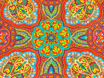 Colorful fabric design Royalty Free Stock Photos