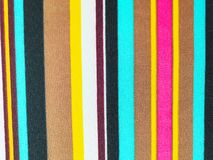 Colorful fabric line background. royalty free stock images
