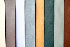 Colorful fabric samples. As background Royalty Free Stock Image
