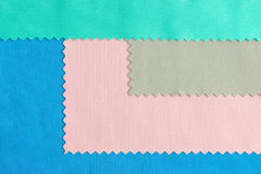 Colorful Fabric Samples Background Royalty Free Stock Photography
