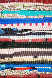 Colorful Fabric Striped Background Royalty Free Stock Photo