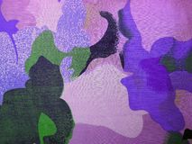 Colorful  fabric texture Royalty Free Stock Photo