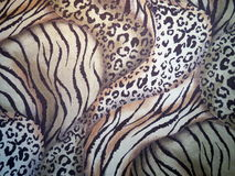 Colorful fabric texture Stock Photography