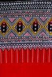 Thai silk. Royalty Free Stock Image