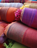 Colorful Fabrics Stock Photos