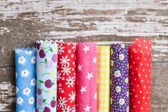 Free Colorful Fabrics Royalty Free Stock Image - 47016996