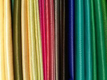 Colorful fabrics Stock Photography