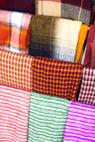 Colorful fabrics. Royalty Free Stock Photography