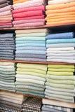 Colorful fabrics Royalty Free Stock Photos