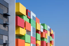 Colorful facade Stock Photos