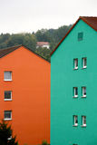 Colorful facade Royalty Free Stock Images