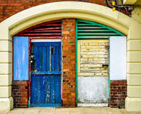 Colorful facade Stock Image