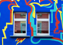 Colorful facade Royalty Free Stock Image