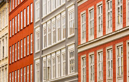 Colorful facades Stock Photos
