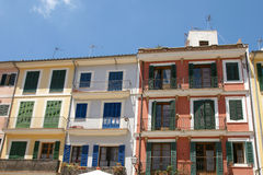 Colorful Facades Stock Image