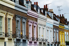Colorful facades Royalty Free Stock Photo