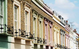 Colorful facades Royalty Free Stock Photos