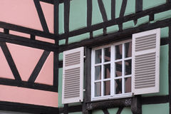 Colorful facades in Colmar Stock Photography