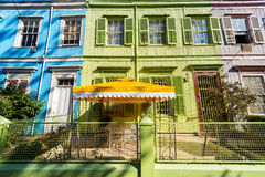 Colorful Facades in Valparaiso Royalty Free Stock Image