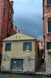 Colorful facades of Venetian houses Stock Photography
