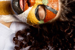 Colorful face mask Royalty Free Stock Images