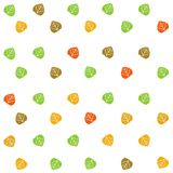 Colorful fall leaves background Stock Photography