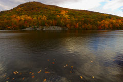 Colorful fall scenery landscapes. Royalty Free Stock Photo