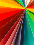 Colorful fan pattern Stock Photos