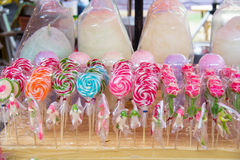 Colorful fancy  lollipop Royalty Free Stock Image