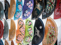 Colorful Fans Royalty Free Stock Photo