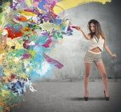 Colorful fashion Stock Photos