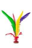 Colorful Feather Chinese Jianzi Kicking Shuttlecock Royalty Free Stock Photos