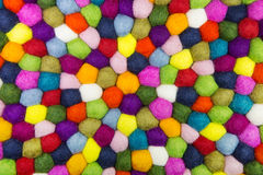 Colorful felt background for creative items. Royalty Free Stock Photography