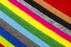 Colorful felt Stock Image