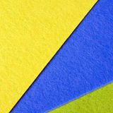 Colorful felt texture Royalty Free Stock Photography
