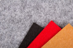 Colorful felt texture. For background Royalty Free Stock Image