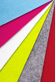 Colorful felt texture for background Royalty Free Stock Image