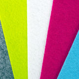 Colorful felt texture for background Royalty Free Stock Photography