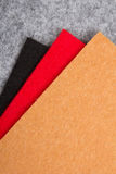 Colorful felt texture for background Stock Photos