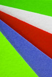 Colorful felt texture for background Royalty Free Stock Photo