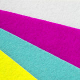 Colorful felt texture for background Stock Photo