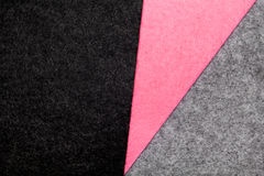 Colorful felt texture for background with copy space Royalty Free Stock Images