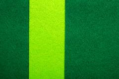 Colorful felt texture for background with copy space. Green colors composition stock photography