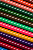 Colorful felt tip pens set texture Stock Photography