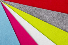 Colorful felt Stock Image