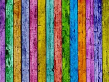 Colorful fence. Stock Image
