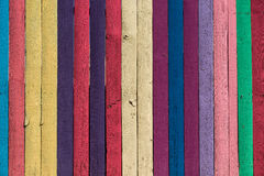 Colorful fence Royalty Free Stock Photos