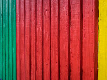 Colorful fence pattern Royalty Free Stock Photo