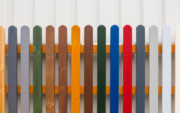 Colorful Fence Royalty Free Stock Image