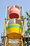 A colorful ferris wheel Royalty Free Stock Images